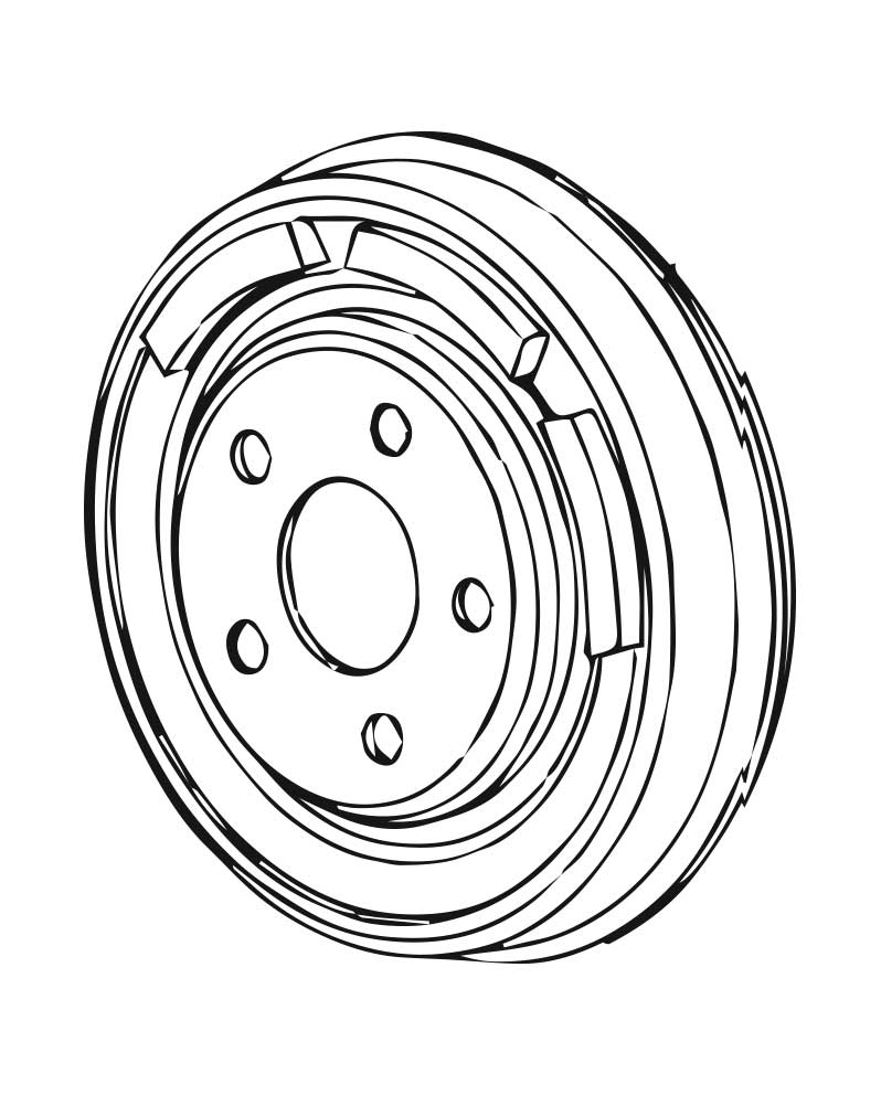 Brake Drums for Subaru XT
