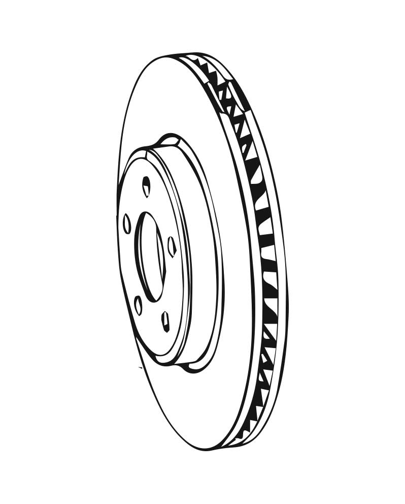 Brake Rotors for Subaru XT