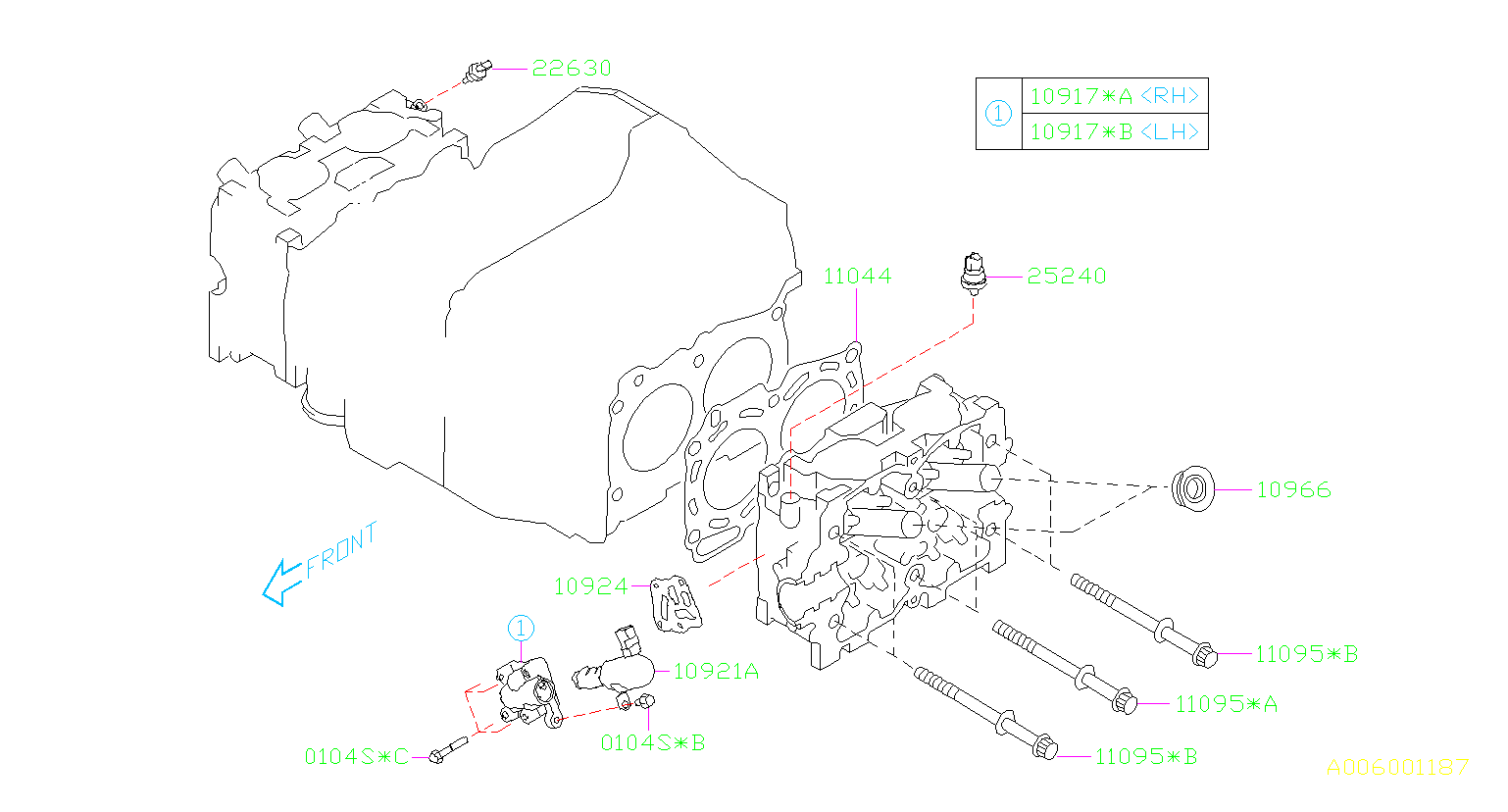 2006 Subaru Impreza Engine Variable Valve Timing (VVT ...