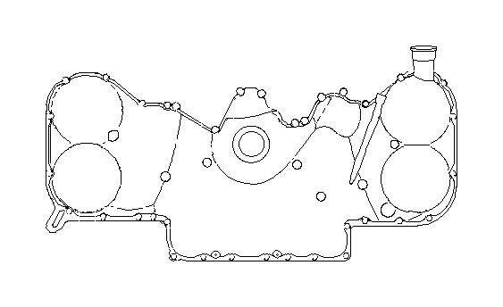 2014 subaru forester bolt-6x53x18  belt  cover  timing