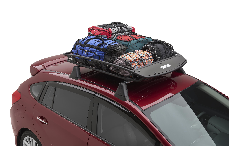 2017 subaru crosstrek thule heavy duty cargo basket easy. Black Bedroom Furniture Sets. Home Design Ideas
