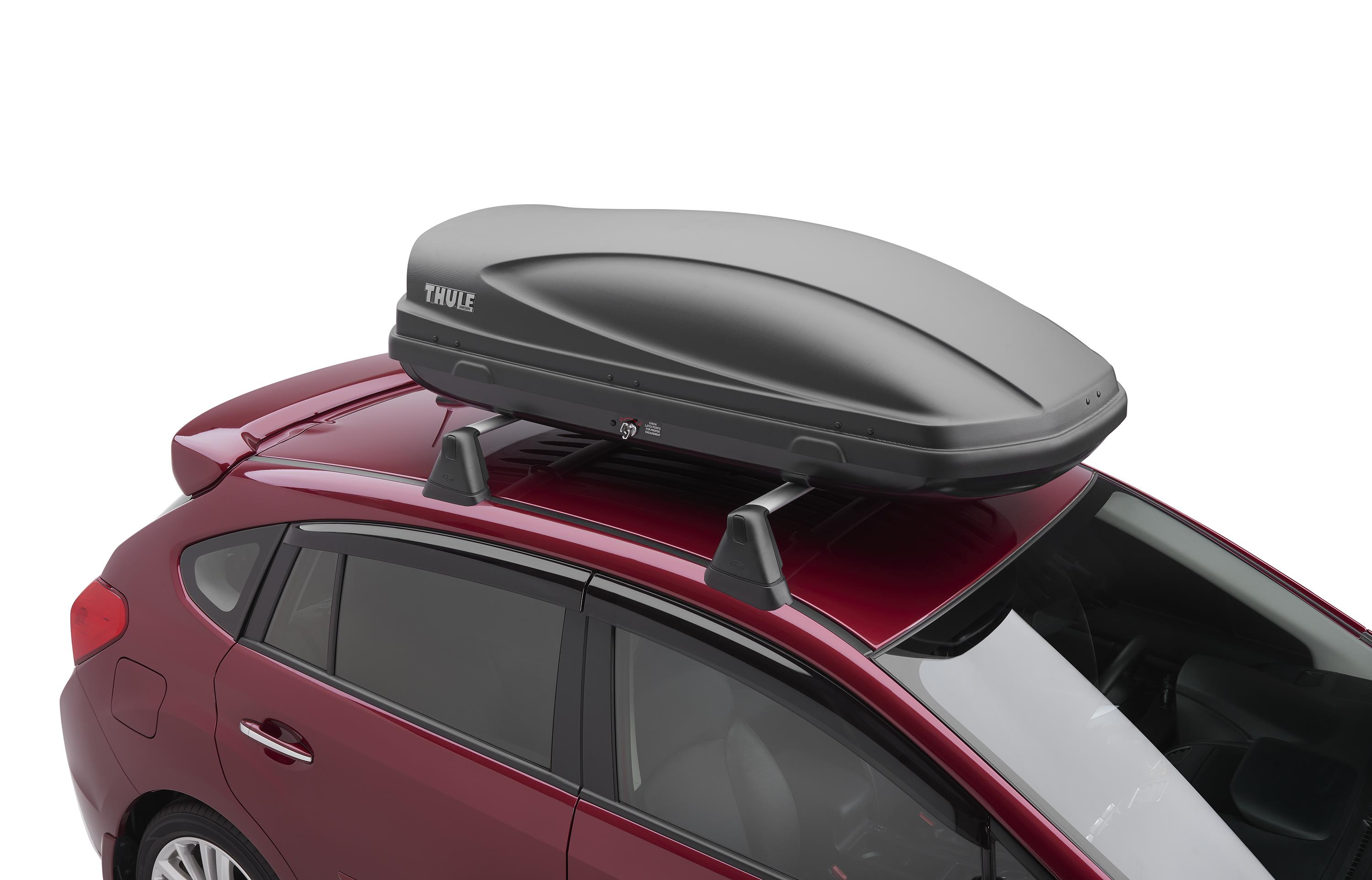 2017 subaru forester thule roof cargo carrier provides side soa567c020 liberty auto city. Black Bedroom Furniture Sets. Home Design Ideas