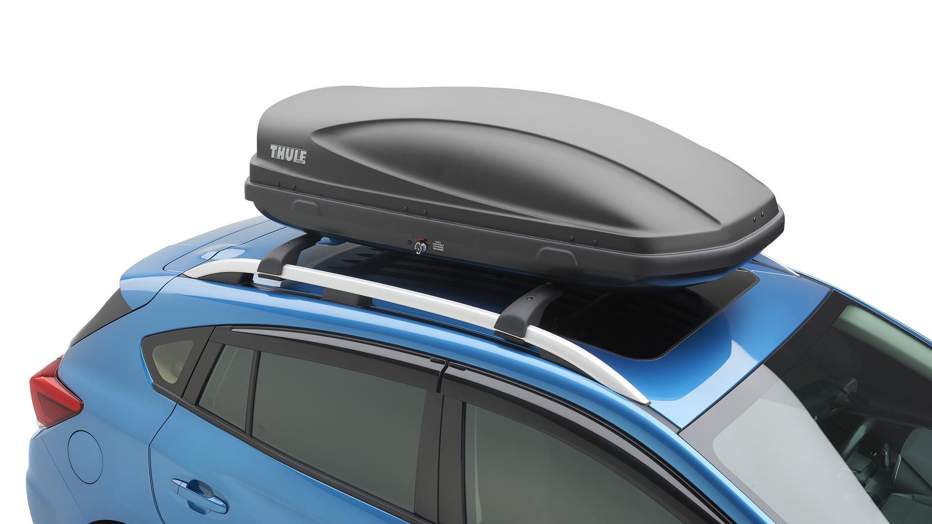 2017 subaru crosstrek thule roof cargo carrier provides. Black Bedroom Furniture Sets. Home Design Ideas