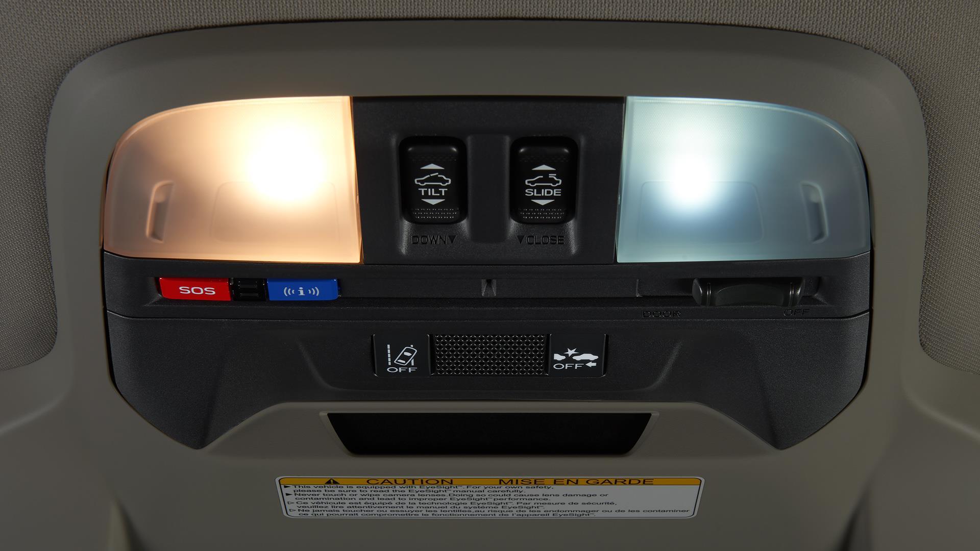 2018 subaru crosstrek led upgrade map and dome lights - Subaru crosstrek interior lighting ...